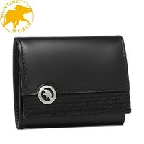 HUNTING WORLD Plain Leather Coin Cases