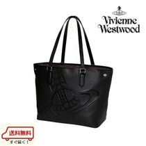 Vivienne Westwood Plain Leather Totes