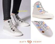 Katy Perry Round Toe Casual Style Street Style Plain Low-Top Sneakers