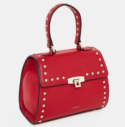 Uterque Handbags Studded Leather 6
