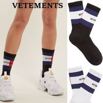 VETEMENTS Stripes Collaboration Socks & Tights