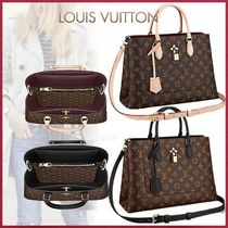 Louis Vuitton MONOGRAM Monogram Canvas Blended Fabrics Studded 3WAY Bi-color