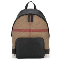 Burberry Unisex A4 Backpacks