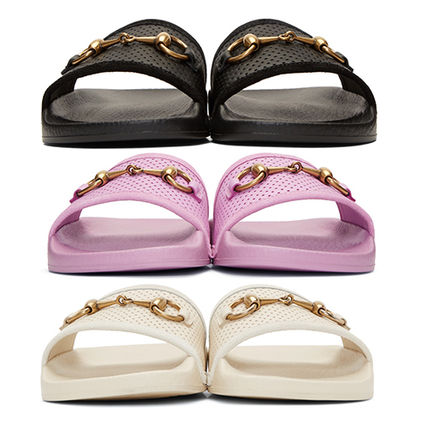 c742523f55e4d7 GUCCI 2018 SS Rubber Sole Shower Shoes Flat Sandals by nanampa - BUYMA