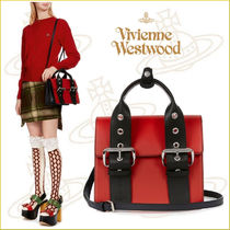 Vivienne Westwood Casual Style 2WAY Leather Handbags
