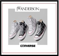 J W ANDERSON Casual Style Collaboration Low-Top Sneakers