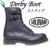Dr Martens Straight Tip Street Style Plain Leather Boots