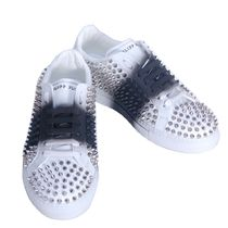 PHILIPP PLEIN Studded Leather Sneakers