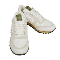 VALENTINO Street Style Plain Leather Sneakers