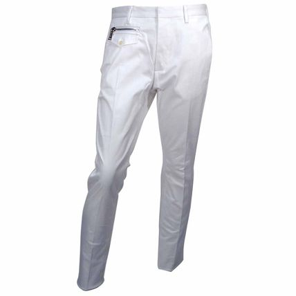 D SQUARED2 Slax Pants Street Style Plain Cotton Slacks Pants