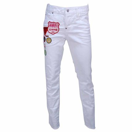 D SQUARED2 Cotton Long Street Style Skinny Jeans