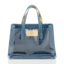 Charlotte Olympia Casual Style Plain Other Animal Patterns Crystal Clear Bags