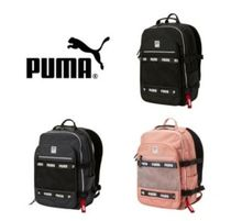 PUMA Casual Style Unisex Street Style Collaboration A4 Backpacks