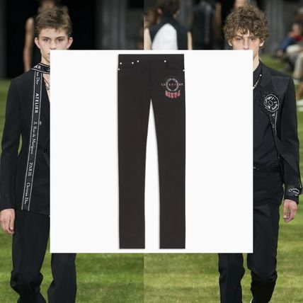reputable site 10dd9 77b6a DIOR HOMME 2018 SS Cotton Jeans & Denim