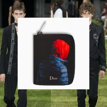 DIOR HOMME Nylon Folding Wallets