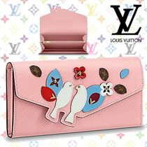 Louis Vuitton Other Animal Patterns Leather Long Wallets