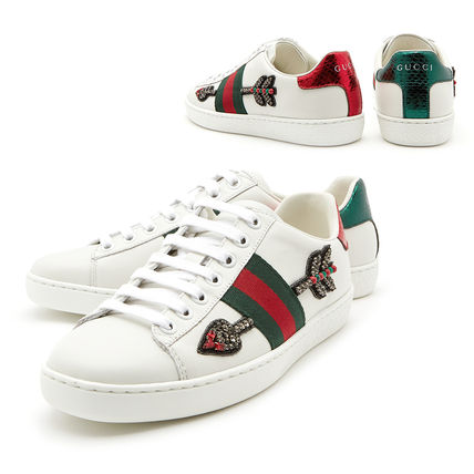 616a5f3ab80 GUCCI 2018 SS Low-Top Sneakers by GoodWillhunting - BUYMA