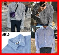 ASCLO Street Style Long Sleeves Shirts