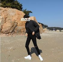 ASCLO Plain Jeans & Denim