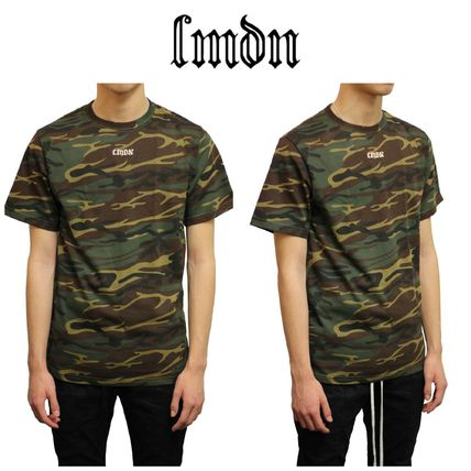 Camouflage Street Style Short Sleeves T-Shirts