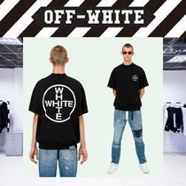 Off-White Pullovers Street Style Bi-color Cotton Short Sleeves