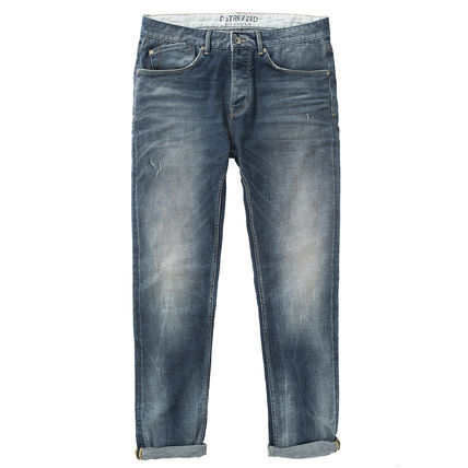 Tapered Pants Denim Jeans