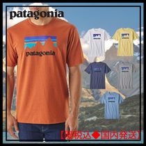 Patagonia Crew Neck Pullovers Unisex Street Style Plain Short Sleeves