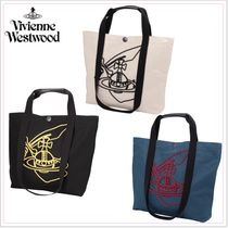 Vivienne Westwood Casual Style Cambus A4 2WAY Totes