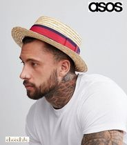 ASOS Straw Boaters Straw Hats