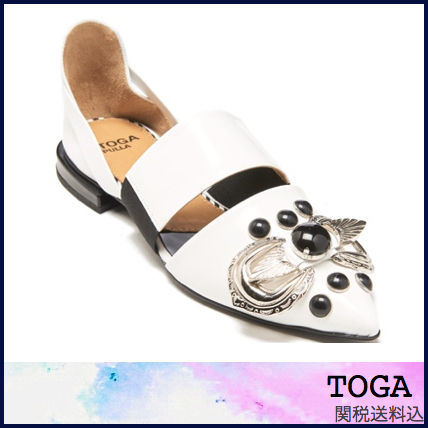 Round Toe Casual Style Leather Sandals Sandals