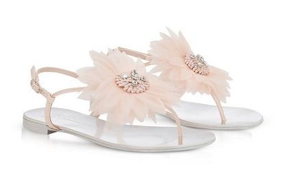 Flower Patterns Open Toe Casual Style Leather Shower Shoes