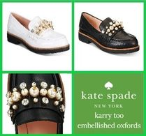 kate spade new york Plain Leather With Jewels Elegant Style
