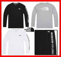 THE NORTH FACE Street Style Long Sleeves Cotton T-Shirts