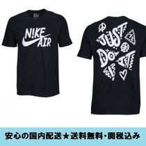 Nike Crew Neck Street Style Cotton Short Sleeves