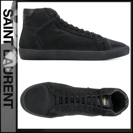 Plain Toe Street Style Plain Sneakers