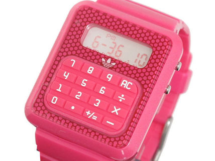 Casual Style Unisex Silicon Square Analog Watches