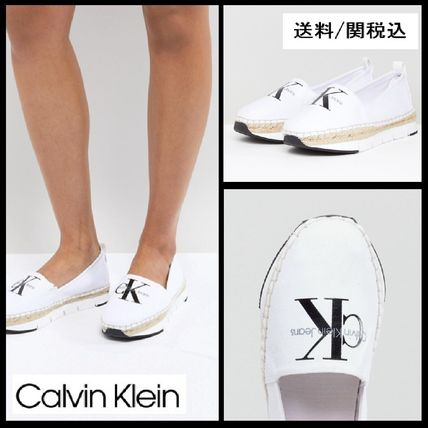 Rubber Sole Casual Style Slip-On Shoes