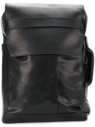 Calfskin Plain Backpacks