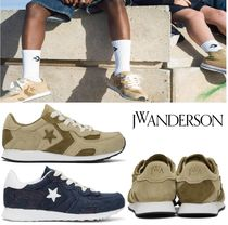 J W ANDERSON Unisex Suede Street Style Collaboration Sneakers