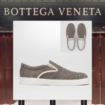 BOTTEGA VENETA Suede Plain Loafers & Slip-ons