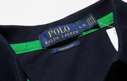 Ralph Lauren Polos Pullovers Plain Cotton Short Sleeves Polos 13
