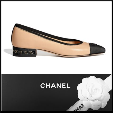 Round Toe Leather Pumps & Mules
