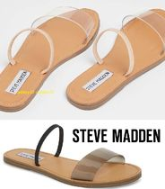 Steve Madden Open Toe Casual Style Street Style Plain Sandals