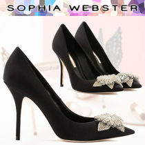 SOPHIA WEBSTER Pin Heels With Jewels Stiletto Pumps & Mules