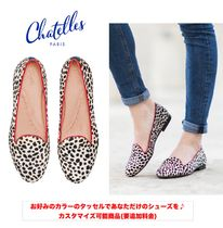 Round Toe Blended Fabrics Tassel Other Animal Patterns