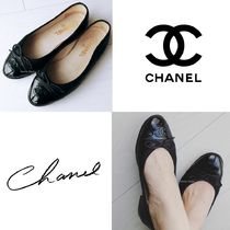 CHANEL CHANEL Classic Ballet Flats Black