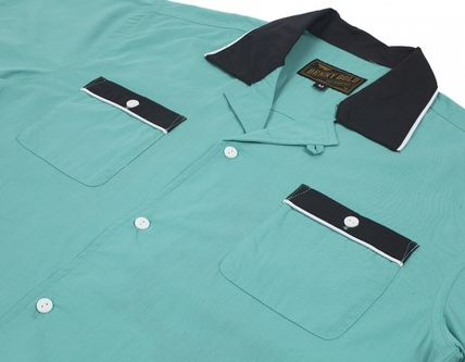 Street Style Cotton Short Sleeves Shirts