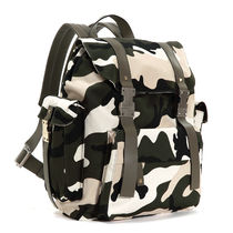 VALENTINO Camouflage Studded Backpacks