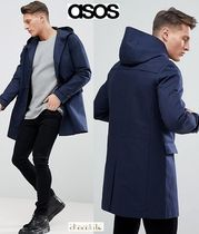 ASOS Street Style Plain Long Trench Coats