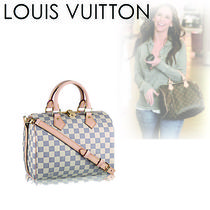 Louis Vuitton DAMIER AZUR Casual Style Canvas 2WAY Handbags
